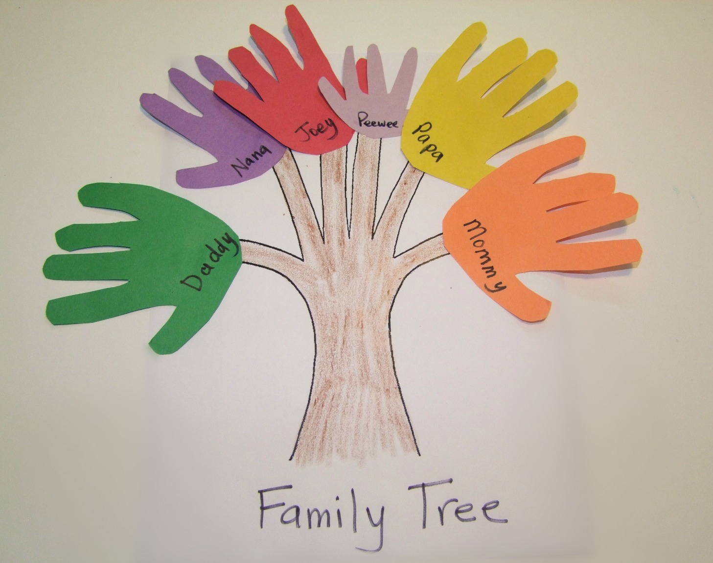 6 divertidas actividades familiares para ni os preescolares for Craft work for class 3
