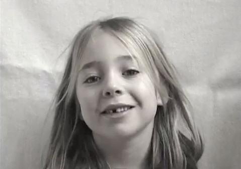 Desde su nacimiento hasta los 13 años en un video de 3 minutos