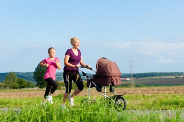 ejercicio para mamás