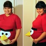 Disfraz de Embarazo: Angry Birds