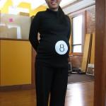 Disfraz de Embarazo: Bola 8