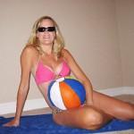 Disfraz de Embarazo: Día de playa
