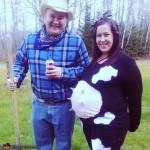 Disfraz de Embarazo: Mamá Vaca