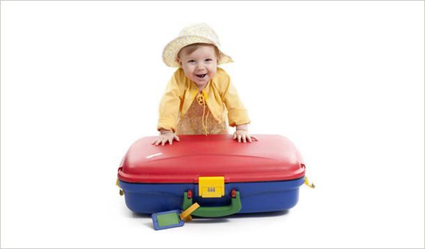 10 consejos para viajar con niños pequeños